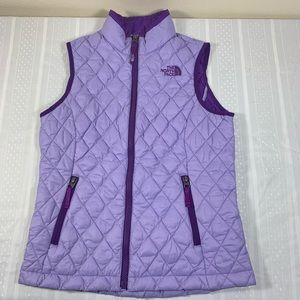 The North Face girls vest